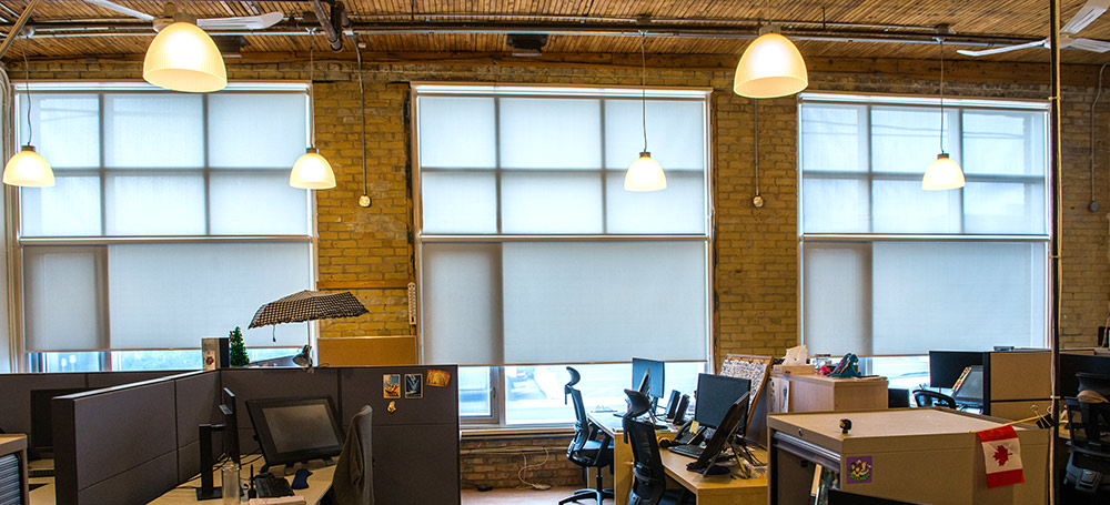 custom office window blinds