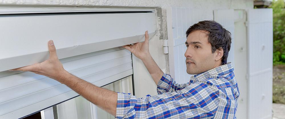 window blinds installation